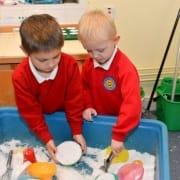 Aberbargoed Primary Pupils