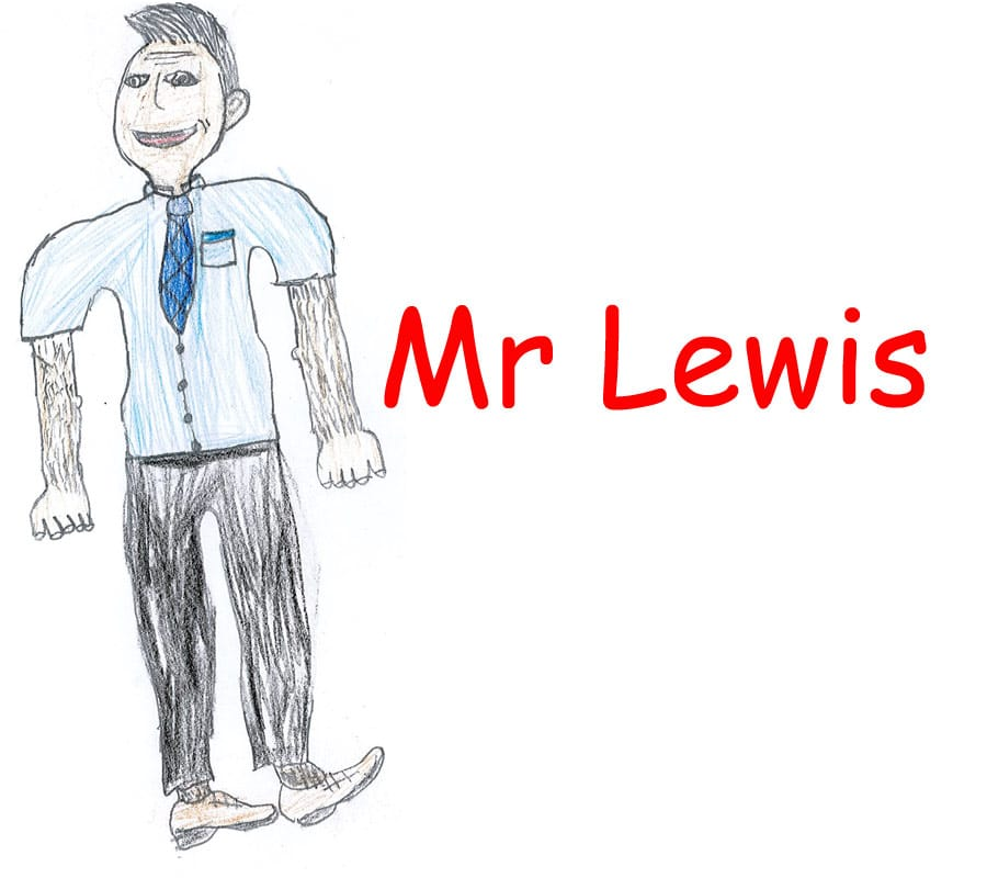Mr Lewis - Headteacher Aberbargoed Primary School