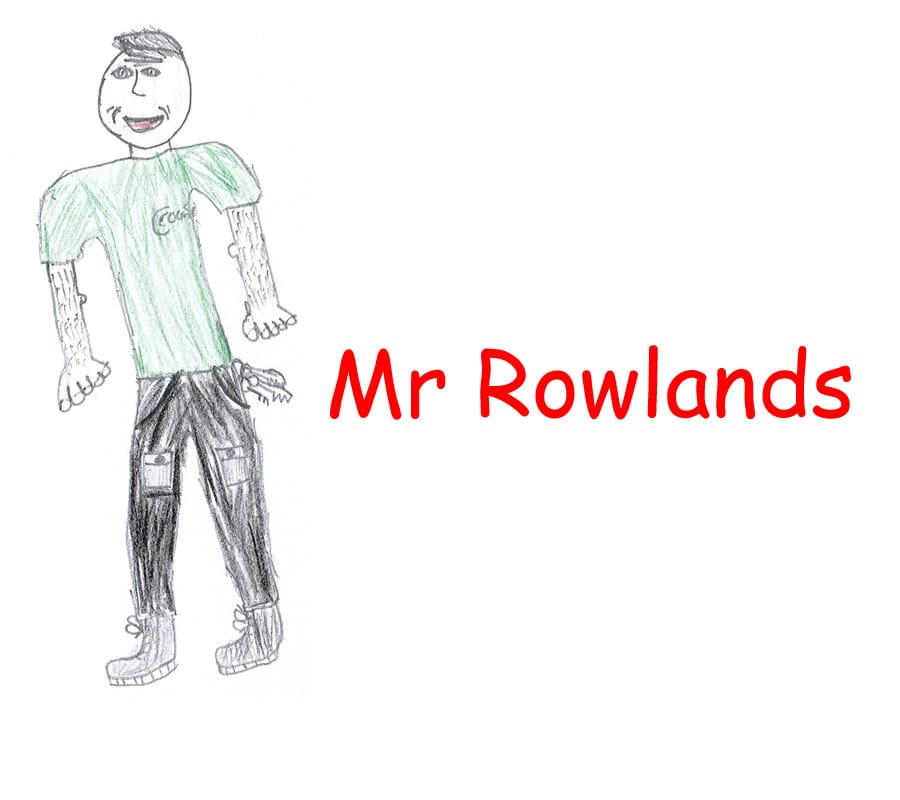 MR J ROWLANDS – CARETAKER Aberbargoed Primary Schoo